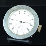 Silver 925 advertisers watch PATEK PHILIPPE Nr.27291. Enameled clock face. Small second to 6h and...