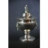Silver soup bowl 310 gr