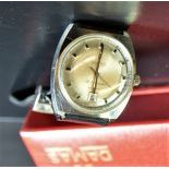 Automatic wristwatch DAMAS made of steel. With calendar. In box.