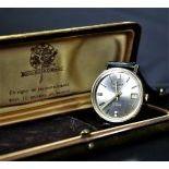 Automatic wristwatch BULOVA Ambassador. With Calendar and 30 rubies. Ø 36mm. With original...