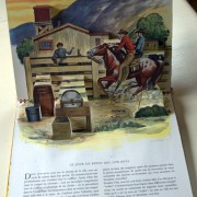 The Cowboys. Pop-up book