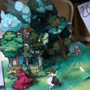 Alice in Wonderland. Pop-up book