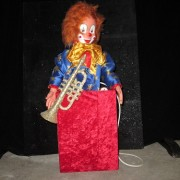 Clown in box