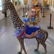 Great carousel giraffe