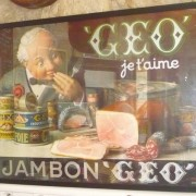 Framed Poster Advertising Geo