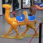 Camel carousel animal
