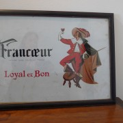 Framed Francoeur advertising