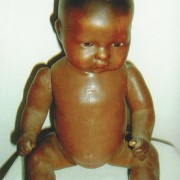Doll - Naked Black Child - A+M
