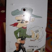 7 Shooting Targets nougat Lucky Luke