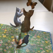 My kittens. Pop-up book
