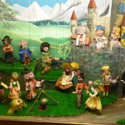 Animated scene of string puppets, Pelham
