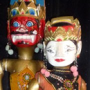 Balinese puppets