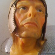 Wax Head from Musée Grévin, Warrior Franc