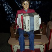 Fairground Organ with  accordion boy automaton
