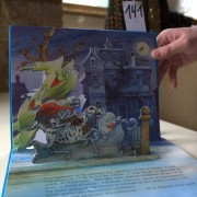 Fiesta with Ghosts. Pop-up book