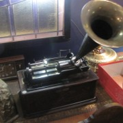 Edison Home Phonograph with original horn